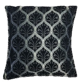 Ottoman Black Cushion Cover