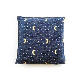 Moon and Stars Blue Cushion Cover