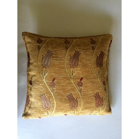 Tulip Vine Gold Cushion Cover