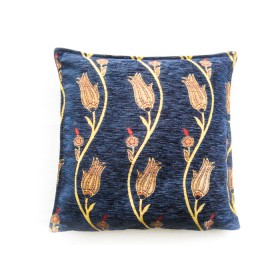 Tulip Vine Blue Cushion Cover